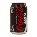 COKE ZERO,12OZ CAN, 24/CARTON