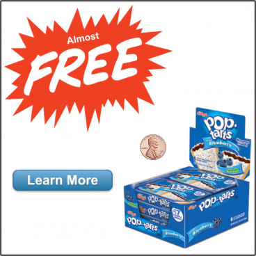 Almost Free Pop Tarts